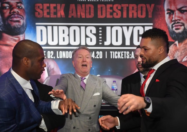 Daniel Dubois vs Joe Joyce postponed again as Frank Warren targets new date in September