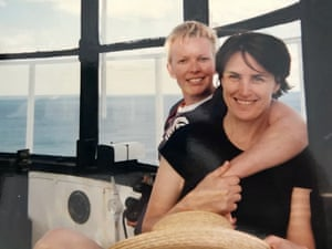 The couple in the Cape Byron lighthouse in 1998