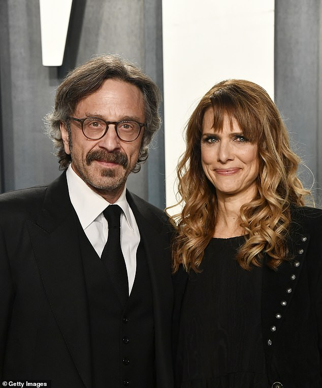 'I am leveled, heartbroken': Marc Maron is speaking out after the tragic, sudden passing of his girlfriend Lynn Shelton, acclaimed director of Humpday and more; seen together in February