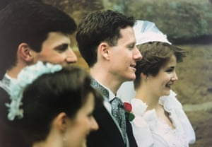 Celia & Richard Craig on their wedding day in 1990