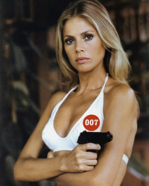 Ekland in a publicity shot for The Man With the Golden Gun.