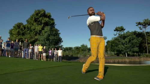 PGA TOUR 2K21 Swing close