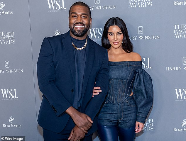 Trouble in paradise: It comes amid reports that her marriage to Kanye West, 42, is on thin ice amid their family's quarantine