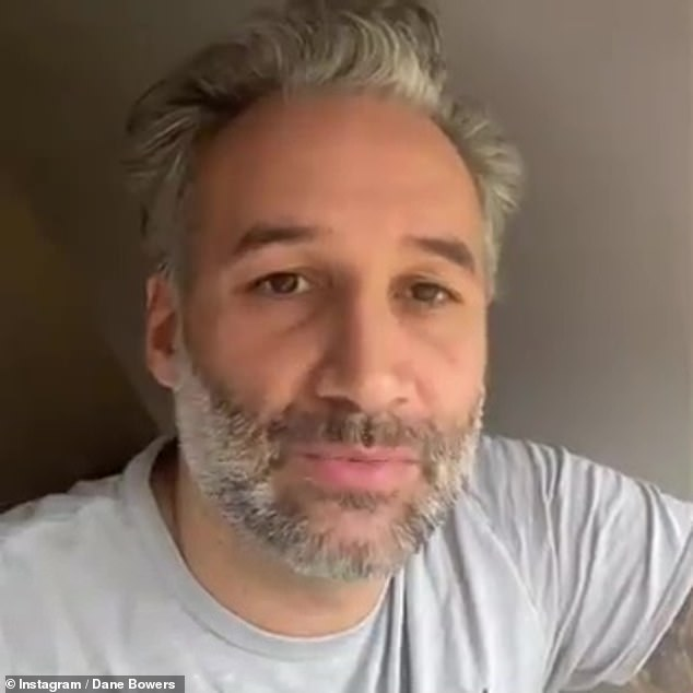 Fury:Dane Bowers has been slammed for questioning whether the killing of unarmed black man George Floyd was racist