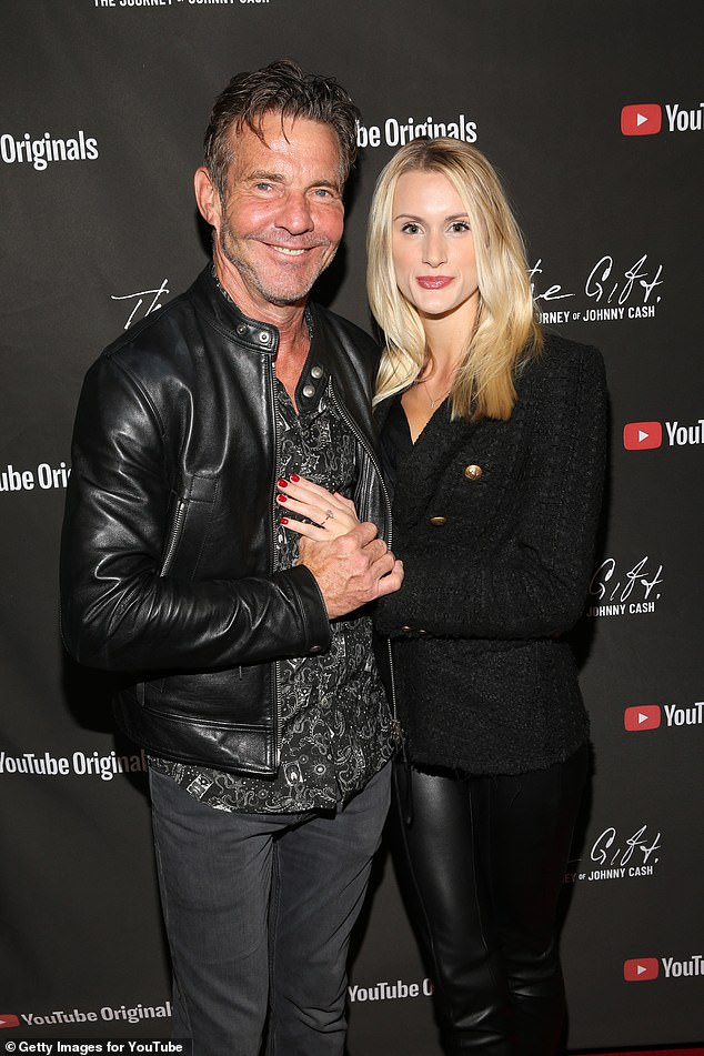 Dennis Quaid and Laura Savoie are married!The 66-year-old actor tied the knot with Laura, 27, at a seaside resort in Santa Barbara on June 2