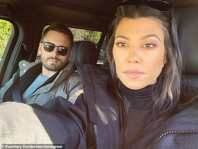 Unbreakable bond: Newly single Scott Disick is 'always flirting' with his 'best friend' Kourtney Kardashian and he 'had so much fun' with her during his 37th birthday trip to Utah last week (pictured April 29)