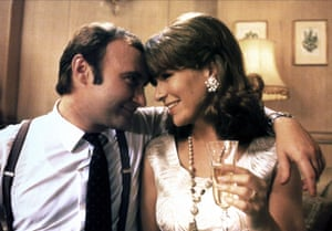 With Phil Collins in Buster.