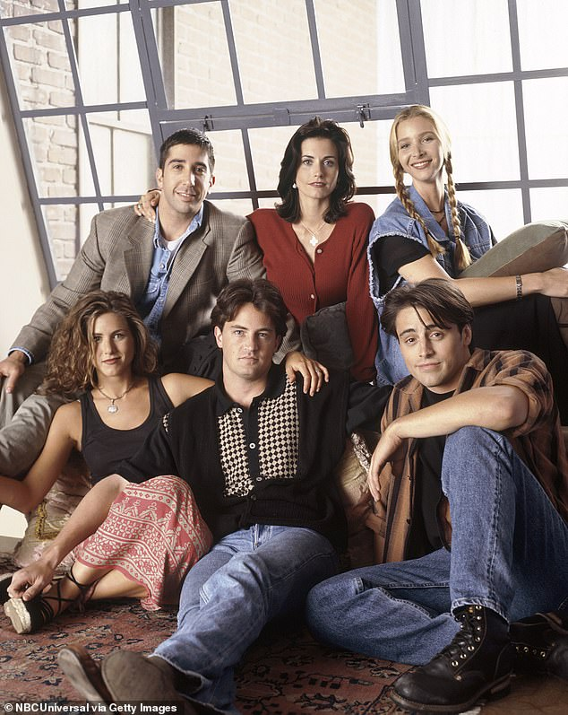 Iconic: The show's six stars - Courteney Cox, Lisa Kudrow, Matt LeBlanc, Matthew Perry and David Schwimmer - will all appear in the one-hour special