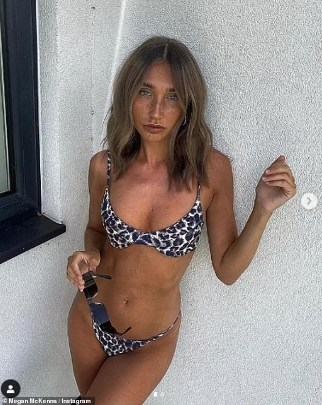 Who knew: Megan McKenna shocked fans on Friday when she revealed she was an extra in The Inbetweeners