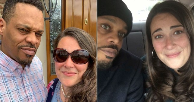 White woman PICTURED WITH HUSBAND WHO IS BLACK