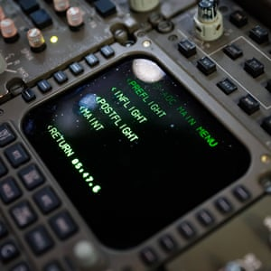 A computer in the cockpit.