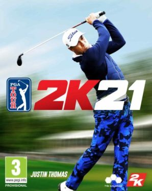 pga tour 2k21 justin thomas cover