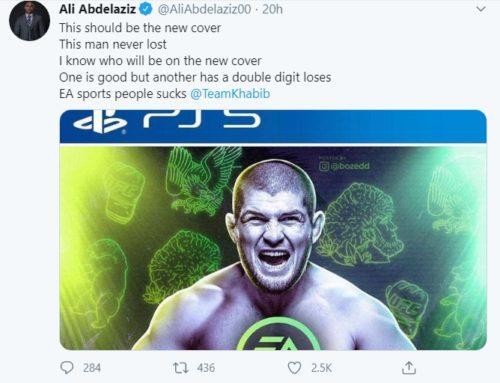 UFC 4 Cover Star