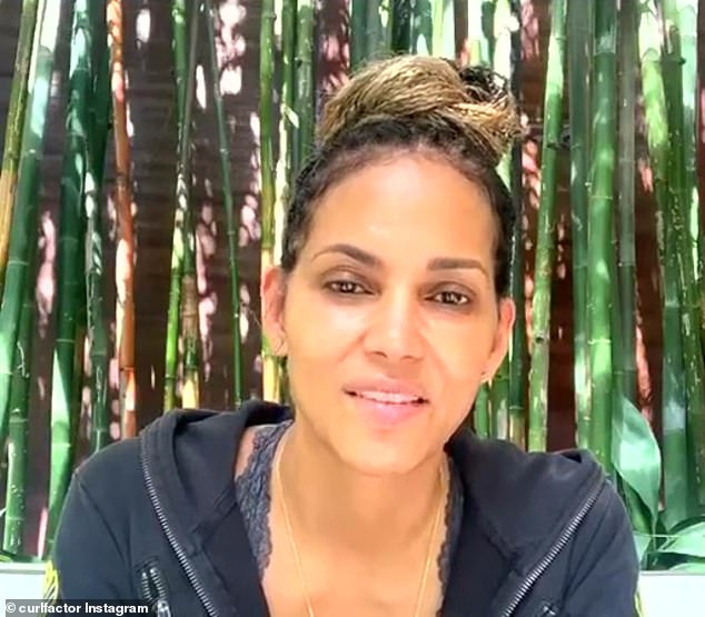 Backlash: Halle Berry was the target of online outrage over the weekend, after revealing on Instagram Live that she 'might' be playing the role of a transgender male in an upcoming film