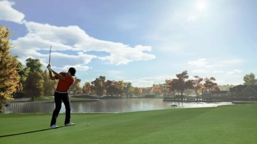 PGA TOUR 2K21 Swing screenshot