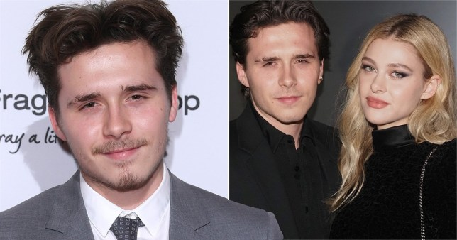 Brooklyn Beckham pictured with fiancee Nicola Peltz