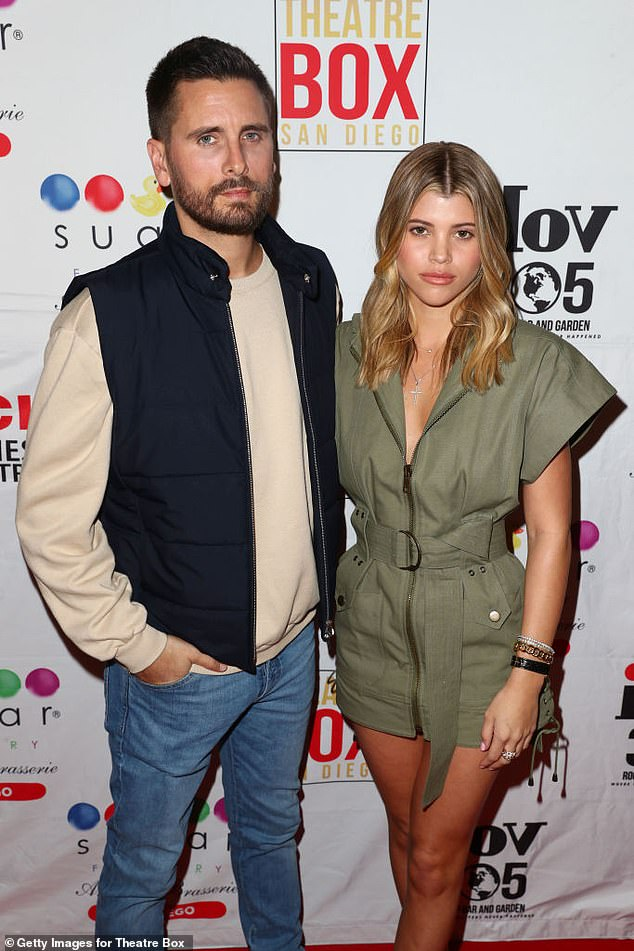 Simmering: Scott Disick and Sofia Richie's renewed relationship has cooled off. The couple seen here in February 2019