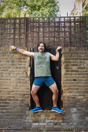Rob Delaney in London