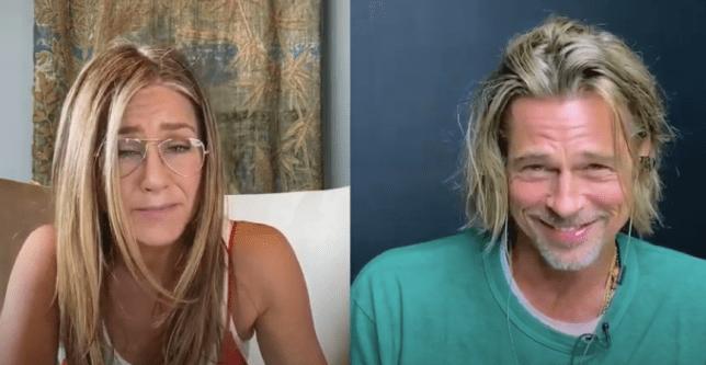 Jennifer Aniston and Brad Pitt reunion