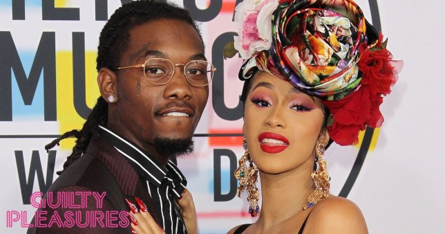 Mandatory Credit: Photo by NINA PROMMER/EPA-EFE/REX (10225938at) Offset (L) and US rapper Cardi B (R) arrive for the 2019 Billboard Music Awards at the MGM Grand Garden Arena in Las Vegas, Nevada, USA, 01 May 2019. The Billboard Music Awards finalists are based on US year-end chart performance, sales, number of downloads and total airplay. 2019 Billboard Music Awards at the MGM Grand Garden Arena in Las Vegas, Nevada, USA - 01 May 2019