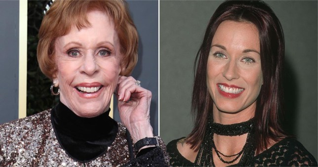 Carol Burnett granted legal guardianship of grandson amid daughter's substance abuse issues