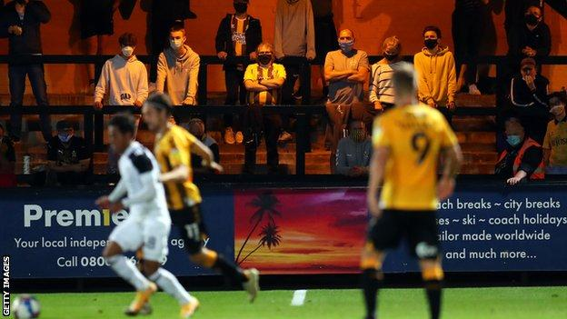 Cambridge United fans