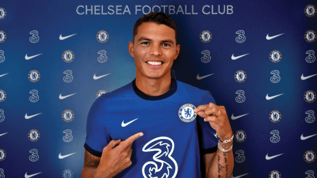Thiago Silva joined Chelsea on a free transfer after leaving PSG