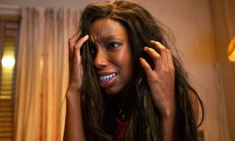 Elle Lorraine in Bad Hair.