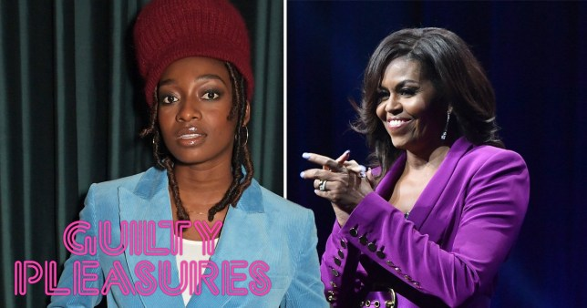 Little Simz and Michelle Obama