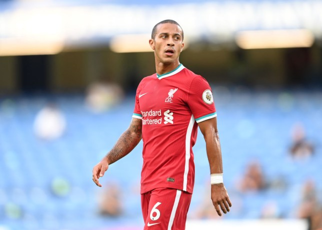 New Liverpool signing Thiago Alcantara has tested positive for coronavirus