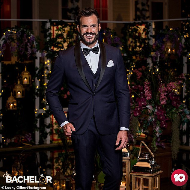 Loved-up! The Bachelor's Locky Gilbert, 30, (pictured) has confirmed he is madly in love with the winner of the show to Perth Now, while competing in the indoor skydiving championships