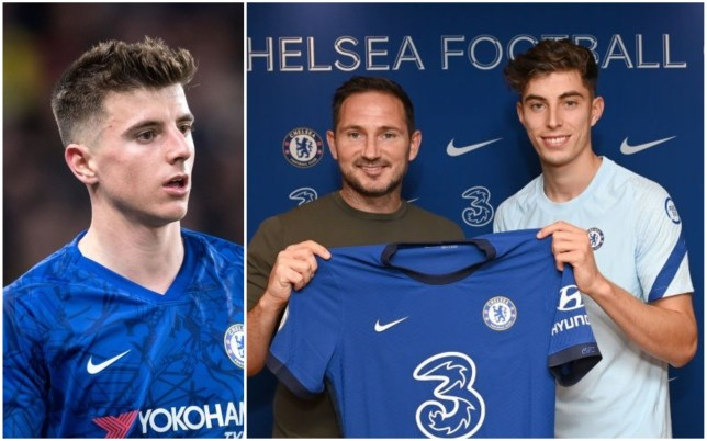 Reports claimed Mason Mount is unhappy with Kai Havertz's arrival at Chelsea