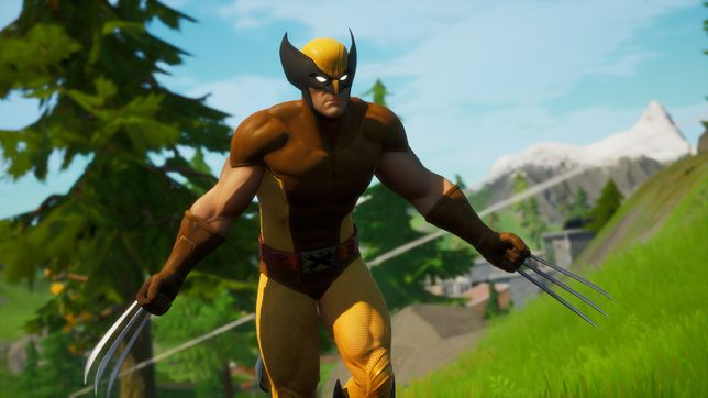 Fortnite Wolverine