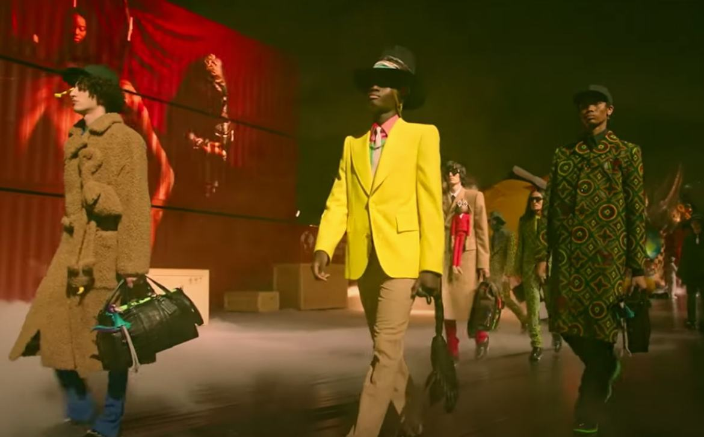 Video: Louis Vuitton menswear SS21 presentation in Tokyo
