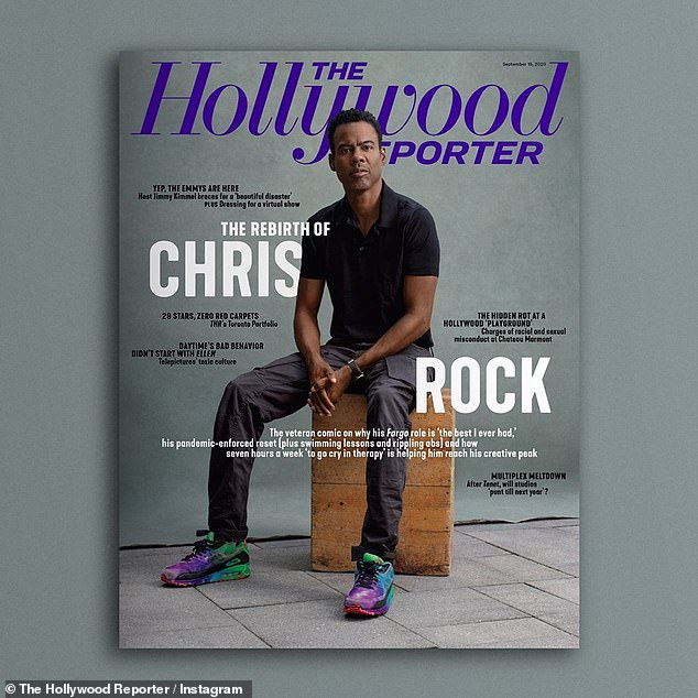 A new path: The Fargo actor made the cover of The Hollywood Reporter this month