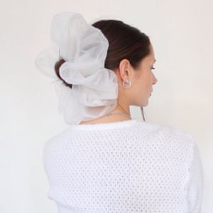 Soul and Flare's recycled scrunchie
