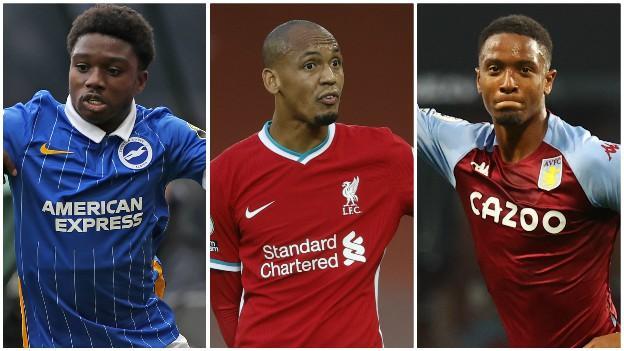 Tariq Lamptey (Brighton), Fabinho (Liverpool), Ezri Konsa (Aston Villa)