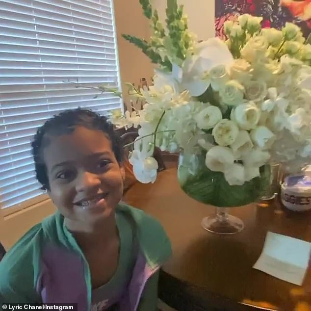 'When the Queen Bey sends you flowers,' Lyric's mom posted to her daughter's popular Instagram page. 'Thank you so much @Beyonce Lyric was so shock to get mail from you and she said Beyonce is the Best!!! We love you so much and she hopes to one day meet you.'