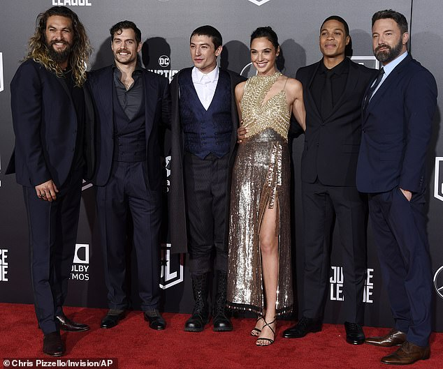 Unacceptable behavior: Fisher previously tweeted in July:'Joss Wheadon's on-set treatment of the cast and crew of Justice League was gross, abusive, unprofessional, and completely unacceptable' (pictured in November, 2017)