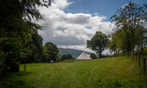 Forest Retreats also offers camping breaks.