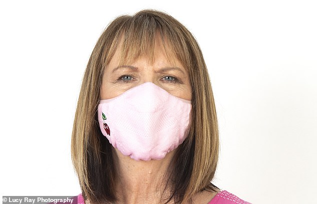 The maker likens this fabric to the breathable material used in trainers. The mask is comfy, but scores fairly low