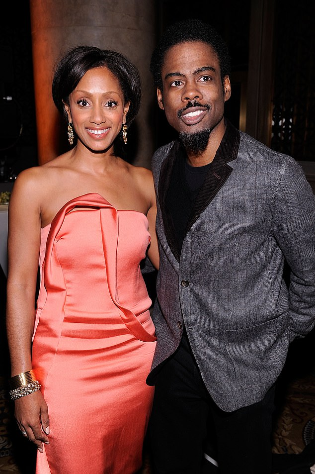 His former wife: In 2014 he split from wife of four years Malaak Compton-Rock; their divorce was finalized in 2016. Seen in 2011