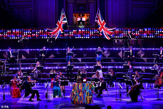 Good result: BGT still received more than double the viewership of its main rival in the slot, The Last Night of the Proms, which also faced weeks of controversy