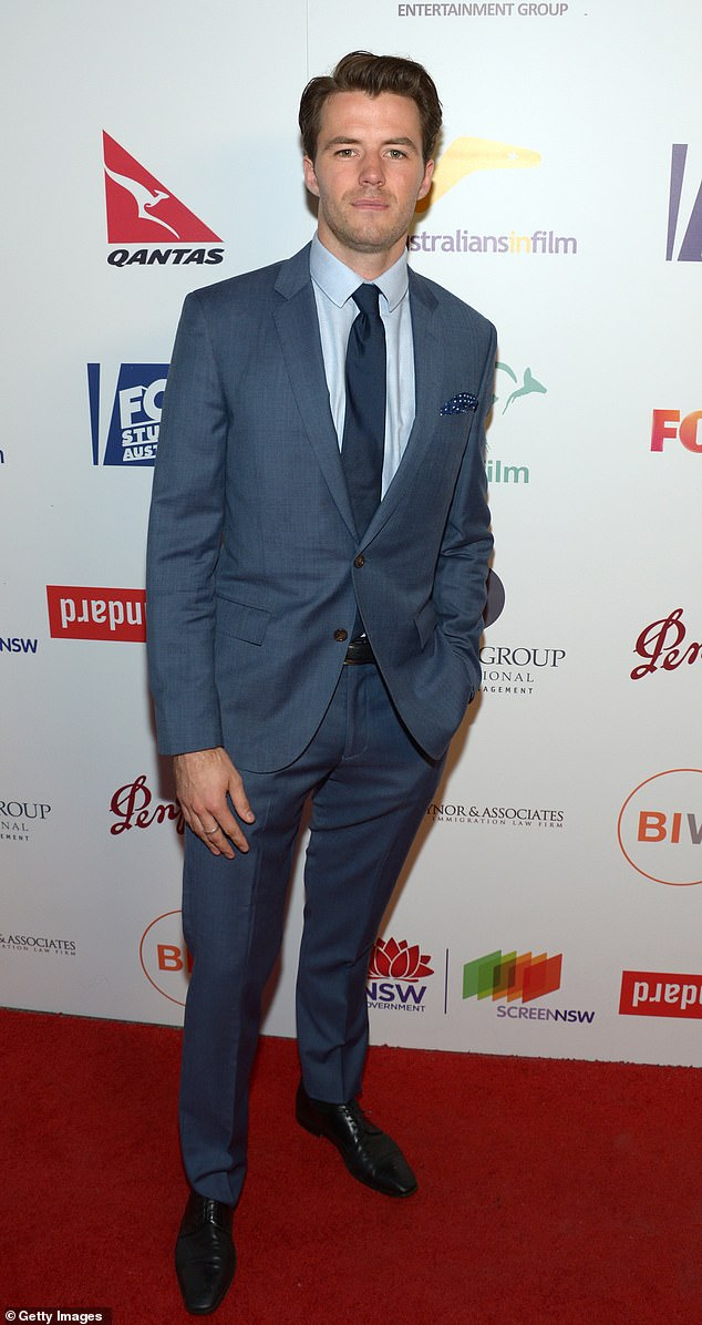Happy together?In July, it was revealed that Bambi has found love in the arms of hunky Australian actor Thomas Cocquerel (pictured)
