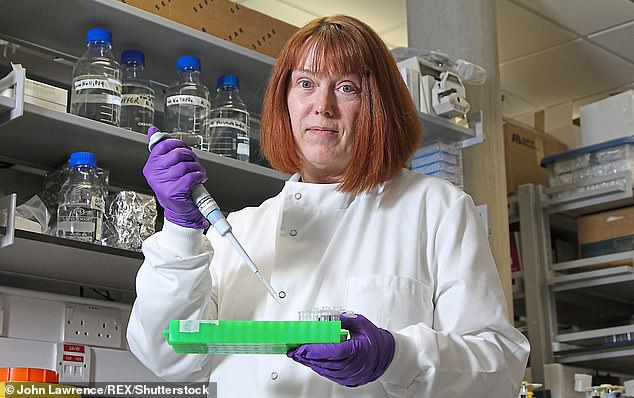 Professor Sarah Gilbert, pictured, has urged people to 'temper their expectations' about immunisation