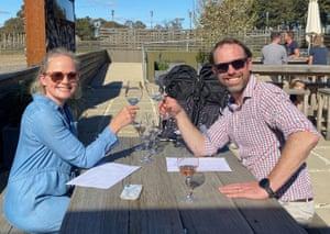 Phoebe & Toby wine tasting in Orange