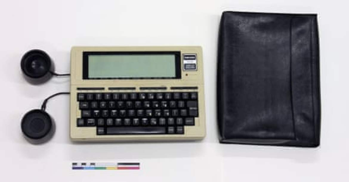 Text favourite … the Tandy TRS-80 Model 100,