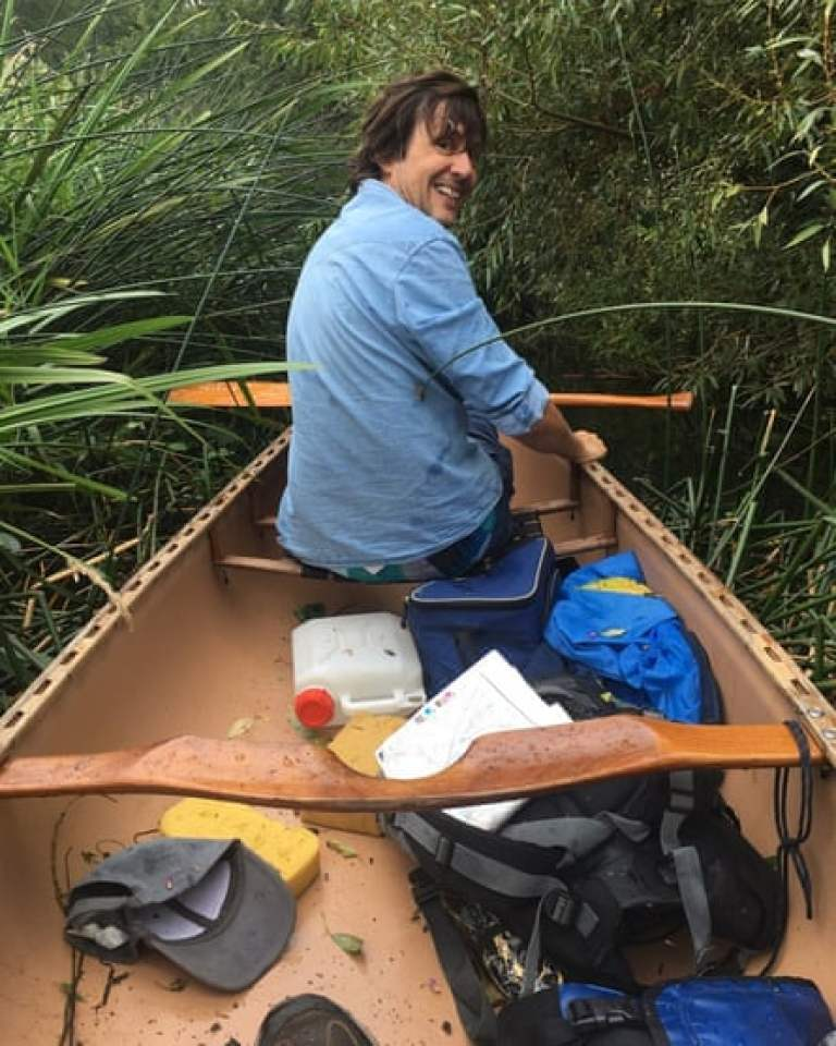 Patrick Barkham Waveney canoe