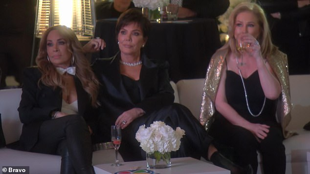 Guest star: Jenner made an appearance on the season 10 premiere of RHOBH in support of longtime friend Kyle Richards' charity gala the momager made a $25,000 donation to the Children's Hospital Los Angeles
