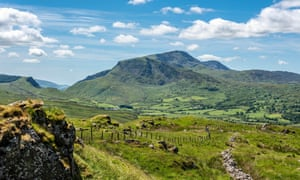 Cadair Idris offers spectacular views of Snowdonia.